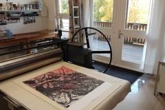 Atelieransicht (Foto: Claudia Rutter-Tuchler)