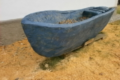 Hilde Syboth - blaues boot