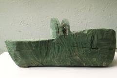 Hilde Syboth - grünes boot