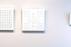 Ausstellung »Weiß« — v.l.n.r.: Ingryda Suokaité, Celia Mendoza