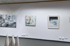 Ausstellung »Weiß« — v.l.n.r: Hans Fuchs, Monique Marxreiter, Claudia Hassel, Petra Bergner