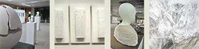 Ausstellung weiß Fotos: Constanze Reithmayr-Stark